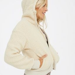 OFFLINE Sherpa Cropped Hoodie   American Eagle Outfitters (US & CA)