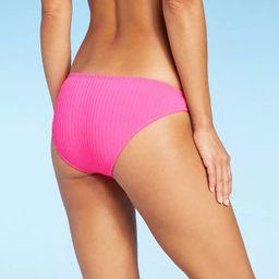 Juniors' Ribbed Cheeky Bikini Bottom - Xhilaration™   Target