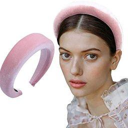 Thick Velvet Women Headbands 90s Hair Accessories Head Band Fashion Headwear Wide Plastic Hairban... | Amazon (US)