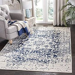 "Safavieh Madison Collection MAD603D Oriental Snowflake Medallion Distressed Area Rug, 5'1"" x 7'6""... | Amazon (US)"