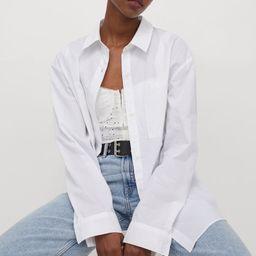 Oversized Cotton Shirt | H&M (US)