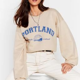 There's a Party in Portland Graphic Sweatshirt | NastyGal (US & CA)
