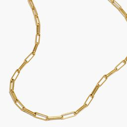Paperclip Chain Necklace   Madewell