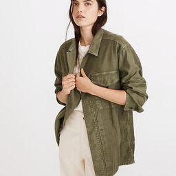 Military Shirt Jacket   Madewell