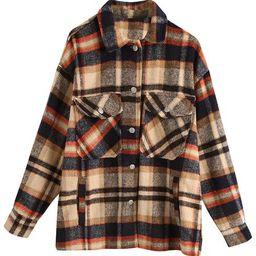 'Amanda' Thick Plaid Shirt   Goodnight Macaroon