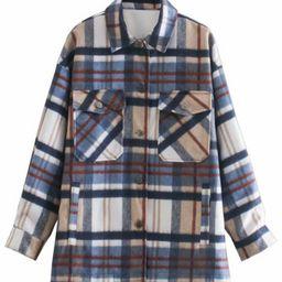'Helena' Thick Plaid Shirt   Goodnight Macaroon
