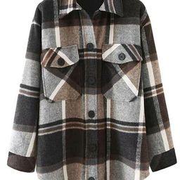 'Katherine' Thick Plaid Shirt (3 Colors)   Goodnight Macaroon