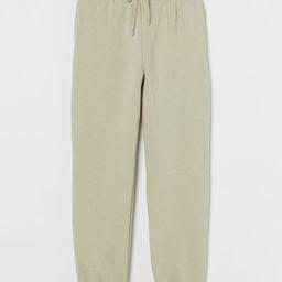 Cotton-blend Sweatpants | H&M (US)