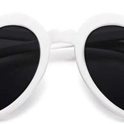 SOJOS Heart Shaped Sunglasses Clout Goggle Vintage Cat Eye Mod Style Retro Glasses Kurt Cobain SJ... | Amazon (US)