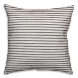 Strunk Ticking Throw Pillow | Wayfair North America