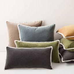 Classic Cotton Velvet Pillow Cover | West Elm (US)