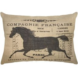 Wrenn Horse Lumbar Pillow | Wayfair North America
