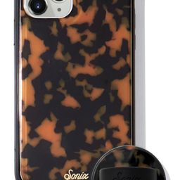 Brown Tort Phone 11 Pro Case & Slide Silicone Phone Ring | Nordstrom