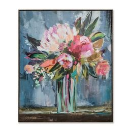 "36""x30"" Floral Still Life Framed Wall Canvas - Opalhouse™ | Target"
