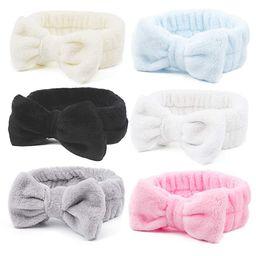 Spa Headband, Exacoo 6 PCS Bow Hair Band for Women Facial Makeup Head Band Knot Turban for Girls ...   Amazon (US)