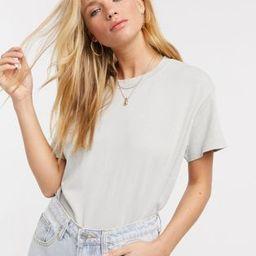 Pull&Bear oversized tshirt in grey   ASOS (Global)