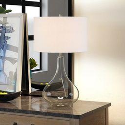 Carson Carrington Sagmyra Clear Glass Table Lamp | Overstock