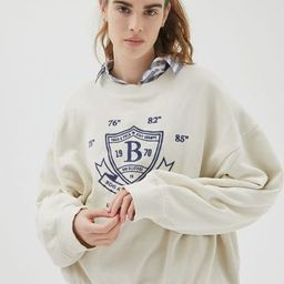 BDG Wilder Crew Neck Sweatshirt | Urban Outfitters (US and RoW)