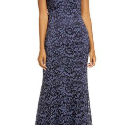 Embroidered Lace Trumpet Gown | Nordstrom