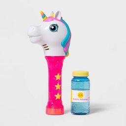 Unicorn Light-Up Bubble Wand Pink - Sun Squad™ | Target