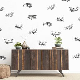 Delta Airplane Wall Decal Set | Project Nursery