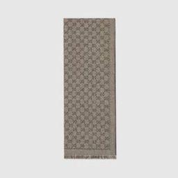 GG jacquard wool scarf   Gucci (US)