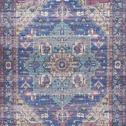 Blue Rossi Area Rug | Rugs USA