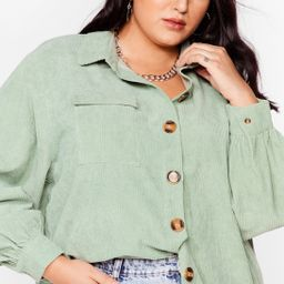 Big Cord and Beautiful Plus Oversized Shirt | NastyGal (US & CA)
