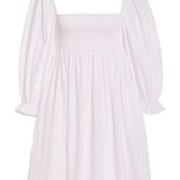 Arles Smocked Cotton Poplin Mini Dress | Moda Operandi (Global)