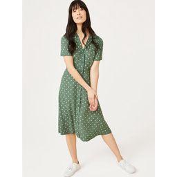 Free Assembly Women's Short Sleeve Camp Shirtdress   Walmart (US)