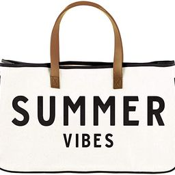 """Creative Brands Hold Everything Tote Bag, 20"""" x 11"""", Summer Vibes 
