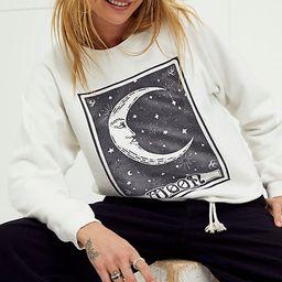 Sun Moon & Stars Crop Crewneck | Free People (US)