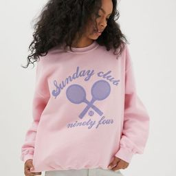 Sunday Club Crew Neck Sweatshirt | Urban Outfitters (US and RoW)