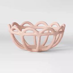 "4.7"" x 10"" Ceramic Bowl Pink - Opalhouse™ | Target"