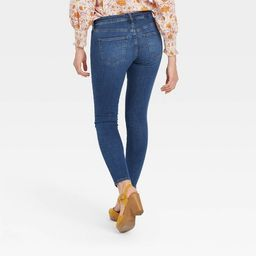 Women's Mid-Rise Curvy Skinny Jeans - Universal Thread™ | Target