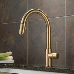 9159-CZ-DST Trinsic Pull Down Single Handle Kitchen Faucet with MagnaTite® Docking and Diamond S...   Wayfair North America