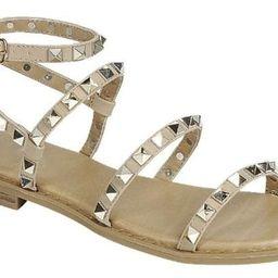 Taupe Studded Sandal | Gunny Sack and Co