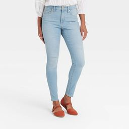 Women's High-Rise Skinny Jeans - Universal Thread™   Target