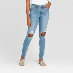 Women's High-Rise Skinny Jeans - Universal Thread™ Light Blue   Target