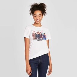 Women's The Office Short Sleeve Graphic T-Shirt - White M | Target