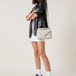 SHEIN BASICS Quilted Satchel Bag   SHEIN