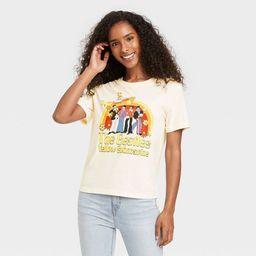 Women's The Beatles Yellow Submarine Short Sleeve Graphic T-Shirt - Cream | Target