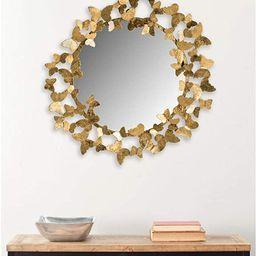 Safavieh Ruthie Gold Butterfly 27-inch Mirror | Amazon (US)