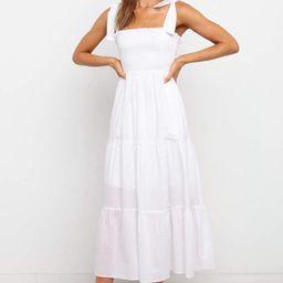 Xaimore Dress - White | Petal & Pup (US)