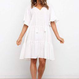 Fynn Dress - White | Petal & Pup (US)