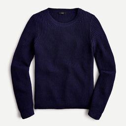Fisherman crewneck sweater in cotton-cashmere   J.Crew US