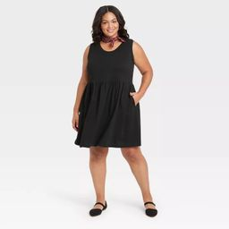 Women's Sleeveless Babydoll Dress - Universal Thread™   Target
