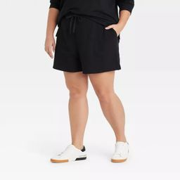 Women's Plus Size Leisure Short - Ava & Viv™   Target