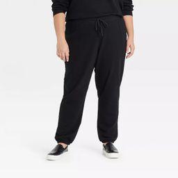 Women's Plus Size Jogger Pants - Ava & Viv™   Target