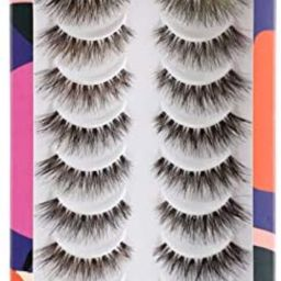False Eyelashes Demi Wispy Lashes Natural Fake Eyelashes 10 Pairs Multipack by Newcally   Amazon (CA)